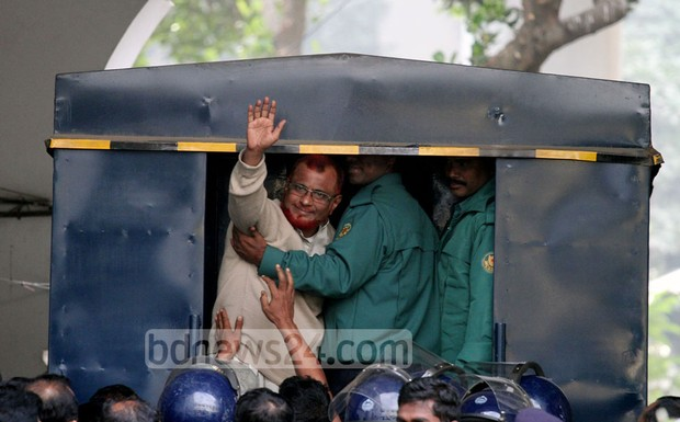 Azhar is the eighth senior Jamaat leader to be convicted of war crimes. Photo: tanvir ahammed/ bdnews24.com