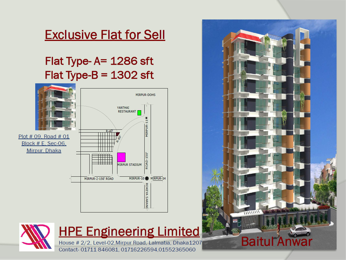 Flat for Sale full