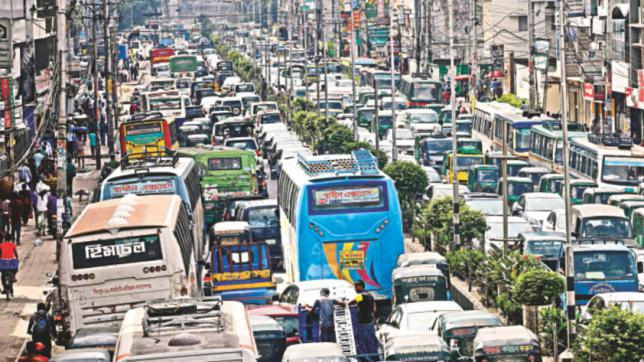 report on traffic jam in bangladesh Traffic congestion in dhaka city - governance perspectives report  dhaka  south city corporation (dscc), bangladesh road transport.