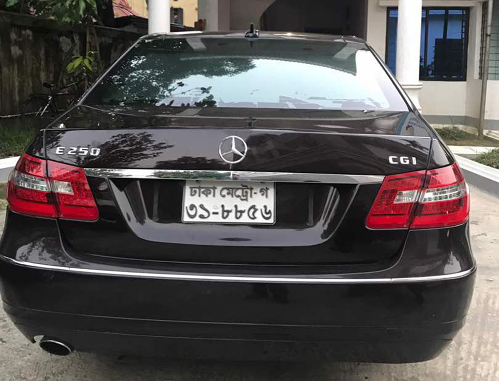 Banani rape prime accused shafat s mercedes benz seized for Prime motor cars mercedes benz
