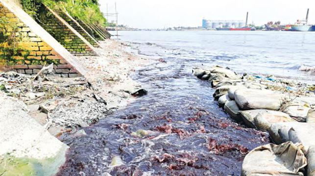 buriganga river pollution by tannery industry The paper also deals with the remedies of buriganga river pollution and some suggested measures for pollution management  solid waste, tannery industry 1  mitigation of river pollution of.
